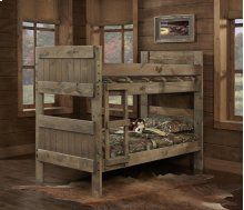 Mossy Oak® Nativ Living Twin over Twin Panel Bunk Bed