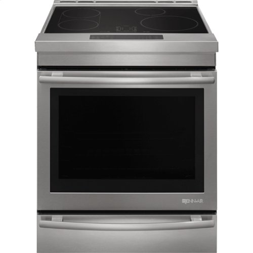 "Jenn-Air® 30"" Induction Range, Euro-Style Stainless"