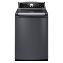 4.8 cu. ft. King-Size Capacity Top Load Washer (Stainless Platinum)