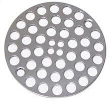 """4"""" Round Shower Grid - """"Plastic Oddities"""" - Antique Brass"""