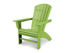 Lime Nautical Curveback Adirondack Chair