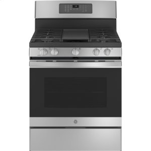 "GEGE® 30"" Free-Standing Gas Convection Range with No Preheat Air Fry"