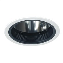 TRIM,6IN STEPPED BAFFLE - White