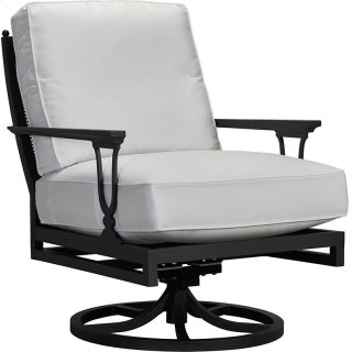 Winterthur Estate Swivel Rocker Lounge Chair - Mesh Back