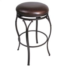 Lakeview Backless Swivel Barstool