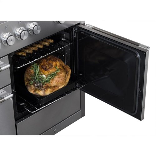 Stainless Steel AGA Mercury Dual Fuel Range  AGA Ranges