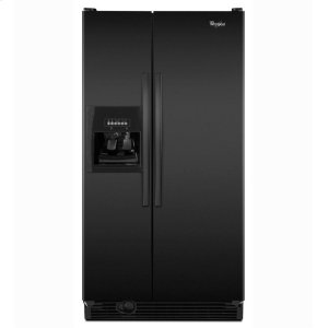 Whirlpool25 cu. ft. Side-by-Side Refrigerator with Clear Temperature-Controlled Meat Pan