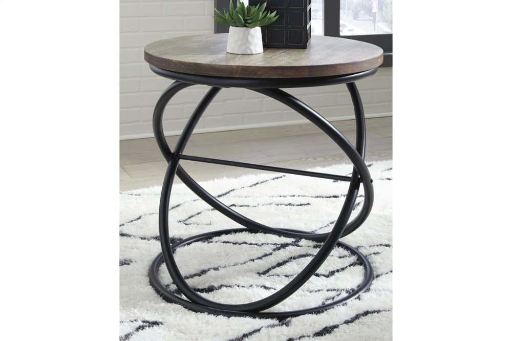 Ashley Furniture Round End Table