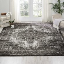 Aria Ar005 Charcoal Rectangle Rug 3'11'' X 5'11''