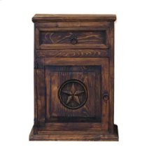 Medio Nightstand W/Star Right