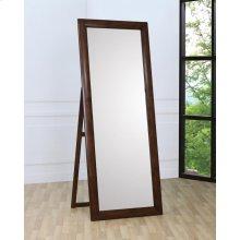 Hillary Warm Brown Standing Floor Mirror