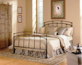 Fenton Bed - Available in Twin Size, Full Size, Queen Size, and King Size.
