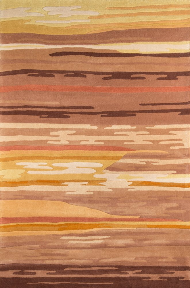 New Wave Nw-013 Gabbeh Sand - 7.9 x 7.9 Round