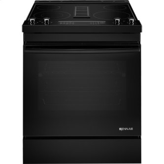 "30"" Electric Downdraft Range, Black"