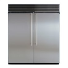 "72"" Built-in Side-by-Side Refrigerator/Freezer"
