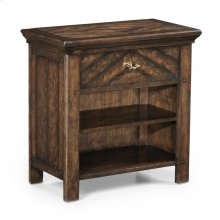 Bedside table with twig detail