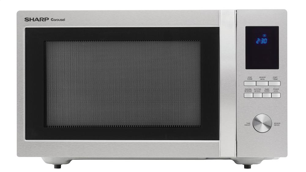 Smc1655bs Sharp 1 6 Cu Ft 1100w