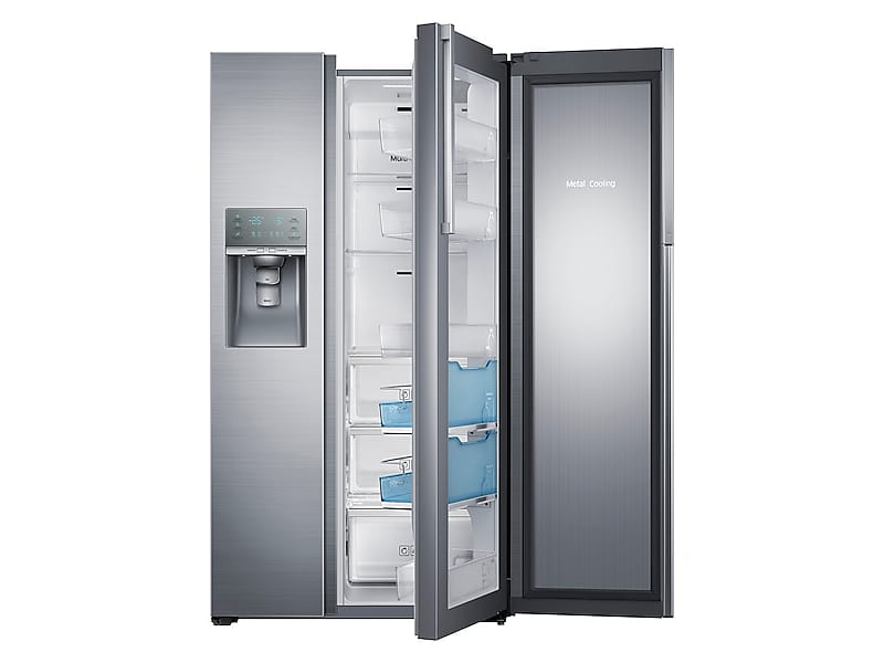 Samsung 22 Cu. Ft. Counter Depth Side By Side Food Showcase Refrigerator
