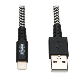 Heavy-Duty USB Sync/Charge Cable with Lightning Connector, 10 ft. (3 m)