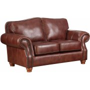 Love Seat in Rustic Rust Product Image