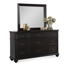 Belmeade Nine Drawer Dresser Raven Black finish