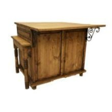 Kitchen Island W/Large Pull Out Table