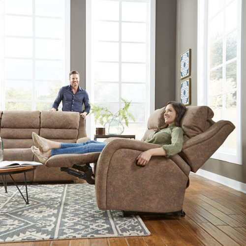 BOSLEY COLL. Power Reclining Sofa