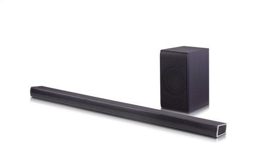 360W 4.1ch Music Flow Wi-Fi Streaming Sound Bar with Wireless Subwoofer