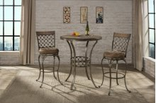 Lannis 3-piece Bar Height Bistro Dining Set