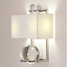 Fortune Teller Sconce-Nickel-HW
