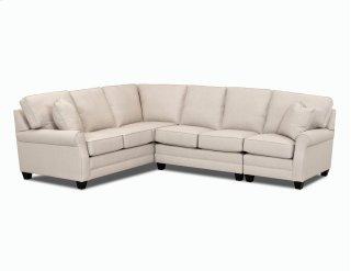 Comfort Design Living Room Loft Sectional C4032 SECT