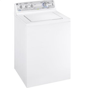 GE® 4.3 IEC* cu. ft. stainless steel capacity washer