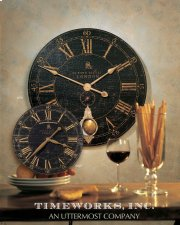 "Bond Street 18"" Wall Clock Product Image"