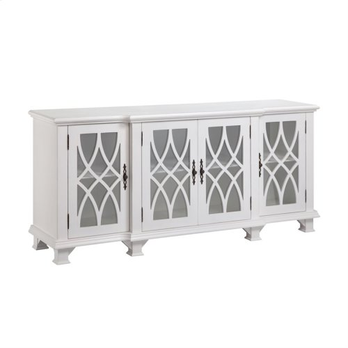 Anastasia Cabinet With Distressed Finish