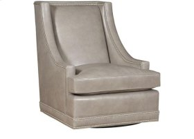 Springfield Leather Swivel Chair