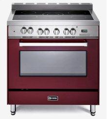 "Burgundy 36"" Electric Single Oven Range"