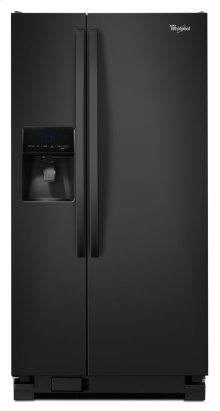 "33"" Wide Side-by-Side Refrigerator with Water Dispenser - 21 cu. ft. - Floor Model"