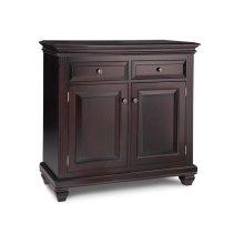 Florentino w/2 Wood Doors & 2/Dwrs & 1/Wood Halfshelf Buffet