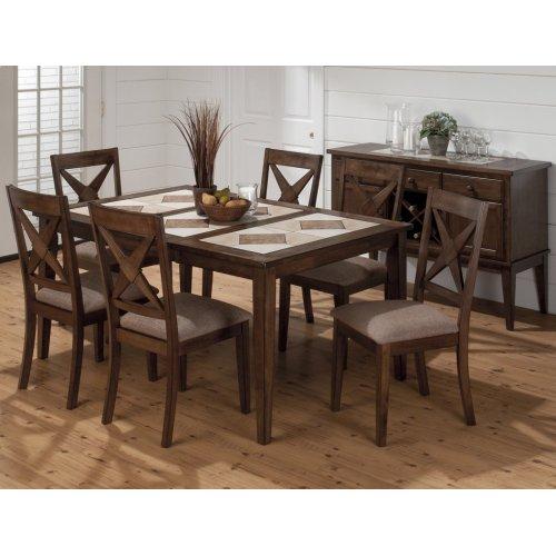 Tucson Nova X Back Upholstered Dining Chair
