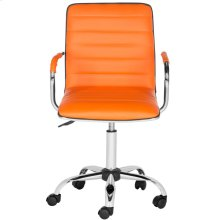 Jonika Swivel Desk Chair - Orange