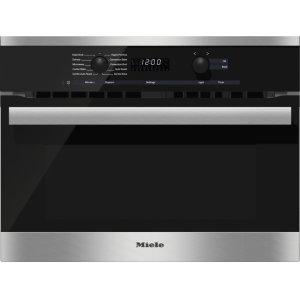 Miele24 Inch Speed Oven With electronic clock/timer and combination modes for quick, perfect results.