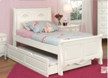 Sleigh Bed With Optional Trundle Storage