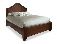 Queen High Arch Panel Bed
