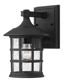 Black Freeport Exterior Wall Mount