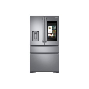 SAMSUNG22 cu. ft. Family Hub™ Counter Depth 4-Door French Door Refrigerator in Stainless Steel