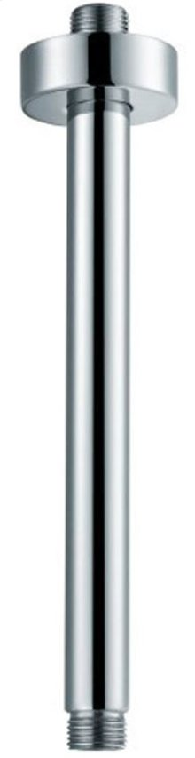 """AB12RC 12"""" Round Ceiling Mounted Brushed Nickel Shower Arm for Rain Shower Heads"""