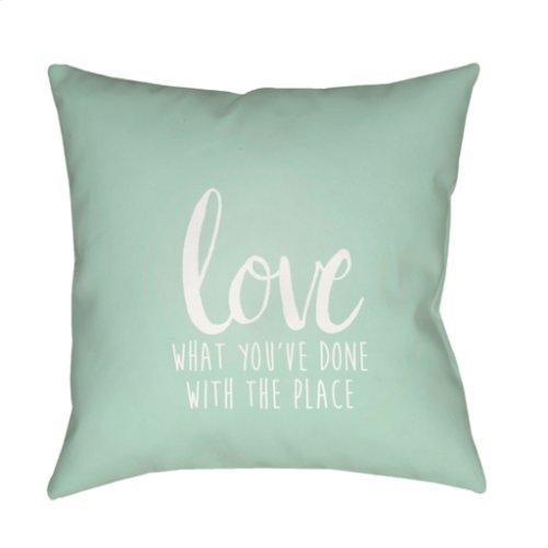 """Love The Place QTE-052 20"""" x 20"""""""