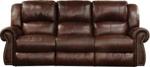 Power Headrest w/Lumbar Reclining Sofa