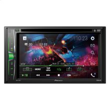 "Multimedia DVD-Receiver with 6.2"" WVGA Display, Built-in Bluetooth® and Remote Control Included"