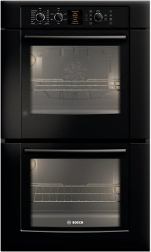 "500 Series 30"" Double Wall Oven HBL5660UC - Black"